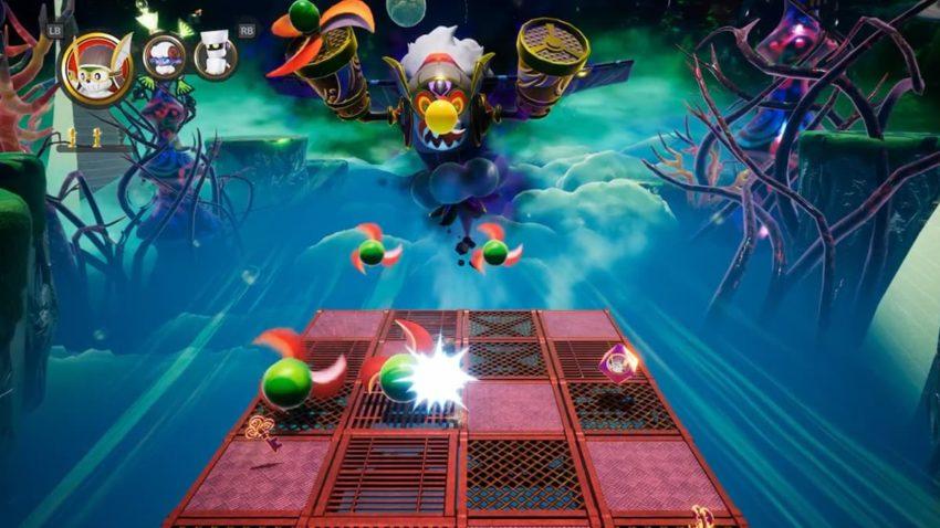 boss du jeu balan wonderworld sur switch