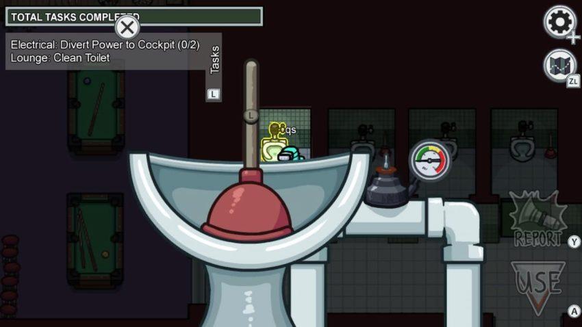 Parmi nous Airship Clean Toilette Lounge