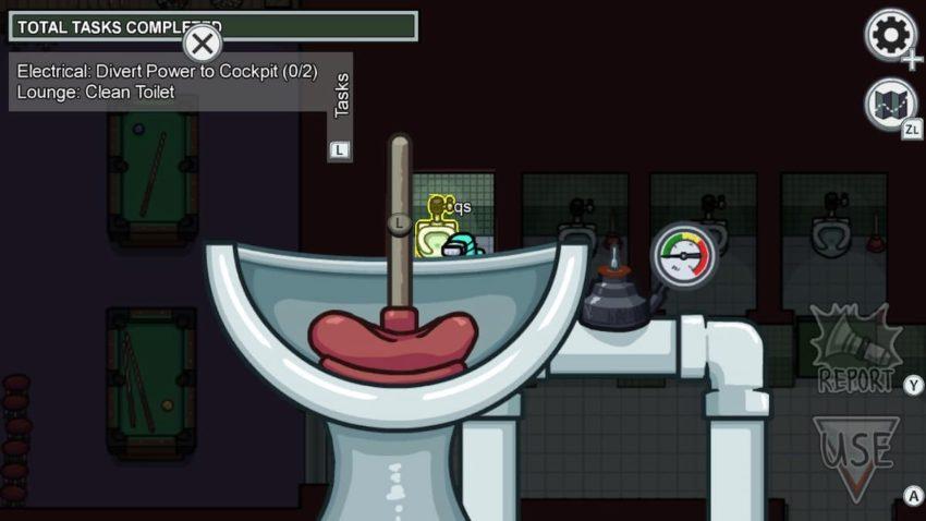 Parmi nous Airship Clean Toilet Lounge